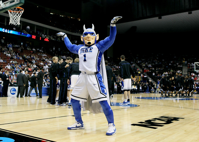 duke blue devils wallpaper. The Duke Blue Devils mascot