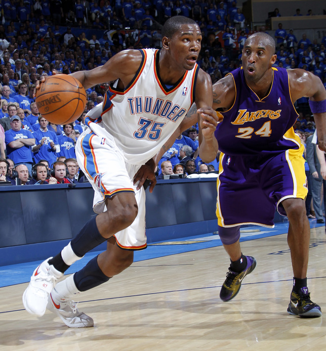Kobe Bryant Dunks On Kevin Durant Sneaker Watch: ...