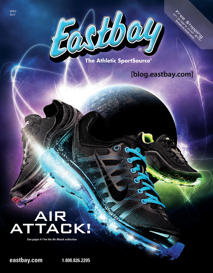 Eastbay is one of the world's leading suppliers of sporting goods, equipment and clothing. It's renowned for its excellent and knowledgeable customer service and speedy delivery times. It has established its reputation on delivering exactly what the customer wants and it's very rare that an item is returned.