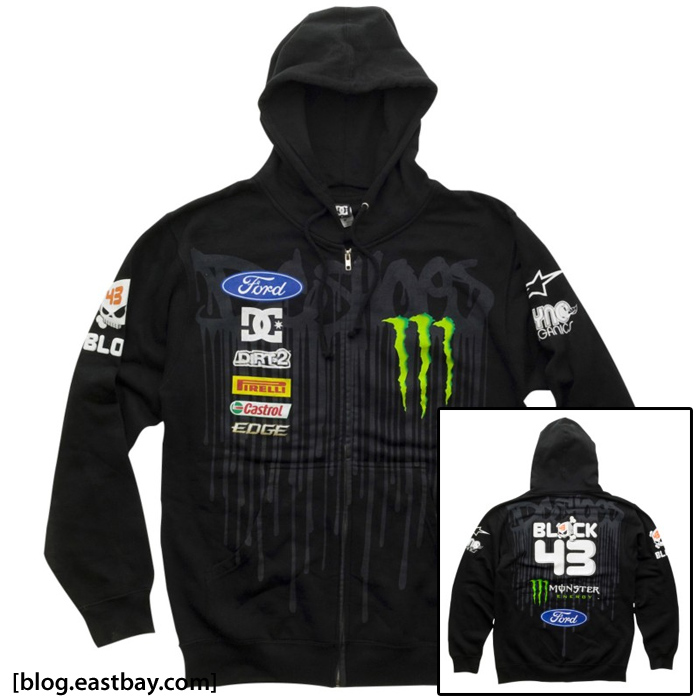 DC Shoes Ken Block Teamworks Drip Hoody