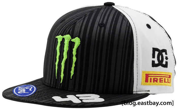 Ken Block X DC Shoes Moster World Rally Team Fitted Hat