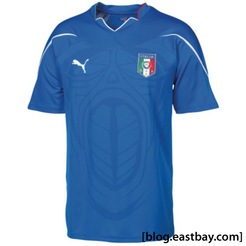 PUMA Italia Collection - World Cup 2010 Replica Jersey