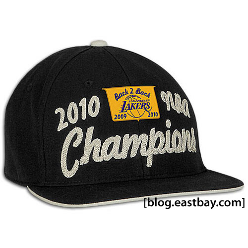 Los Angeles Lakers 2010 World Champions Hat