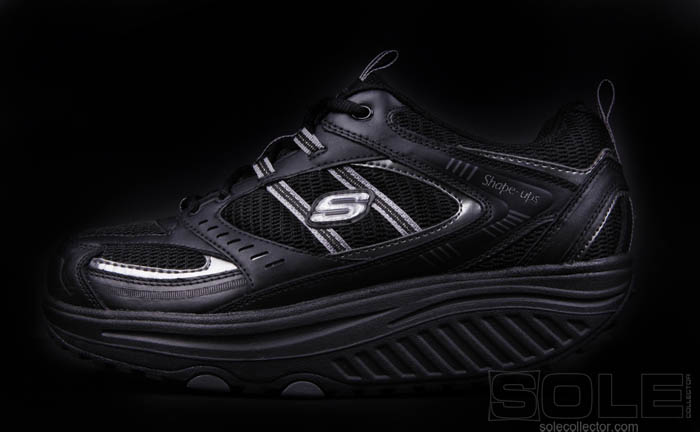 Black Skechers Shoes Skechers-shape-ups-black