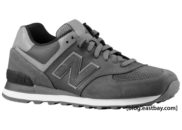all grey new balance
