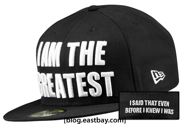 "Muhammad Ali 50th Anniversary ""I am the Greatest"" New Era 59FIFTY Fitted Hat"