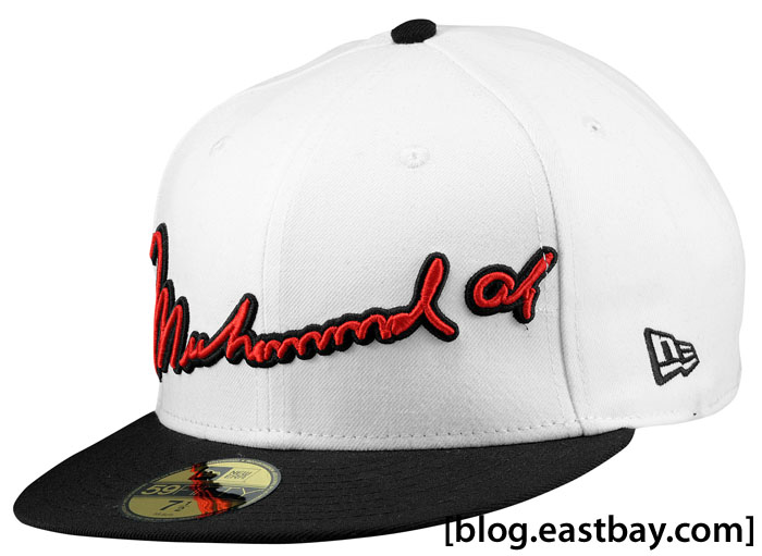 Muhammad Ali 50th Anniversary Signature New Era 59FIFTY Fitted Hat