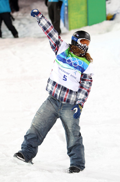 Shaun White Olympic Medal Burton Denim