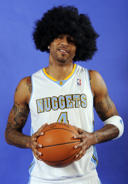 Kenyon Martin hit a (hair) growth spurt over the summer.