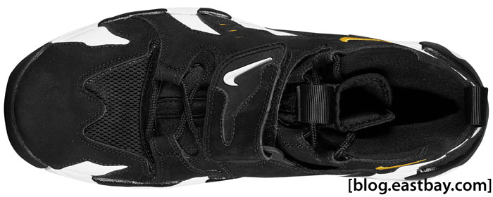 Nike Air Diamond Turf Max 96 Black/Varsity Maize
