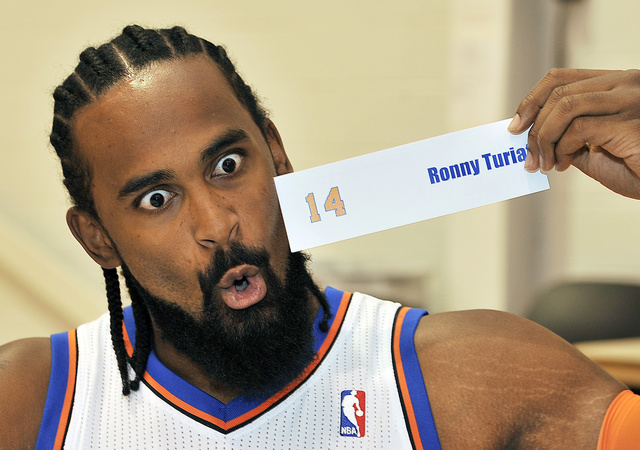 In case you didn't know, this is Ronny Turiaf.