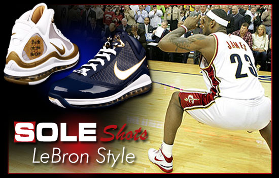 Sole Shots: Doing It LeBron Style