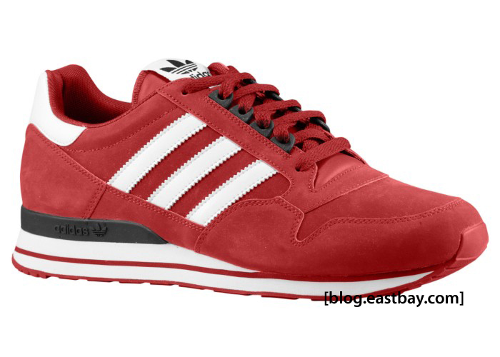 adidas Originals ZX 500 Cardinal/White