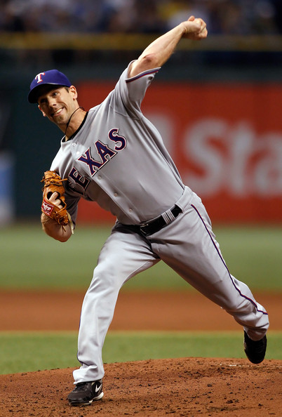 Cliff Lee threw a brilliant game wearing the Nike Zoom Comp V.