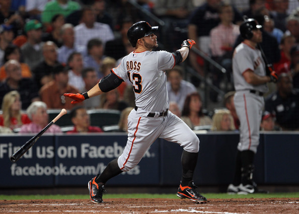 Cody Ross was picked up off waivers and was the big hitter in the Giants win.