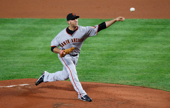 21 year old Madison Bumgarner stepped up big for the Giants.