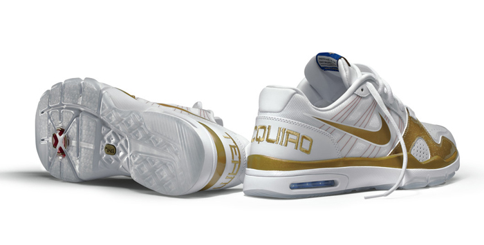Manny Pacquiao x Nike Trainer 1.2 White/Gold