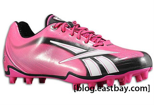 Reebok NFL Burner Speed III Low Breast Cancer Awareness