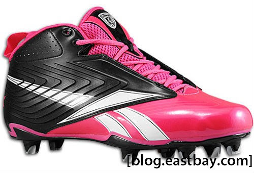 Reebok NFL U-Form 4 Speed Mid Breast Cancer Awareness