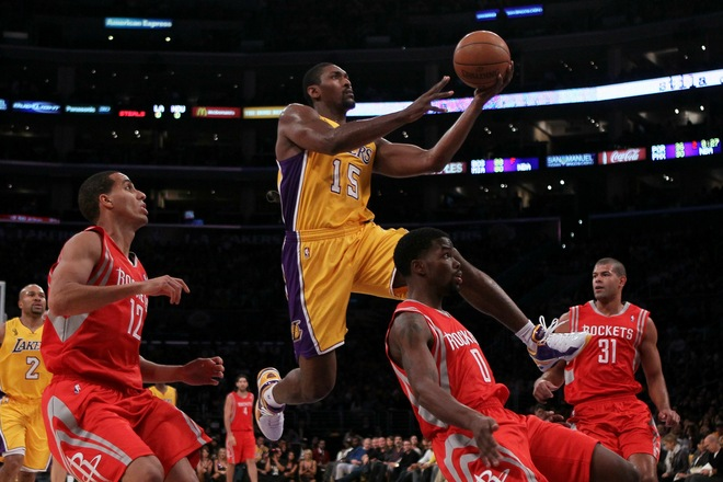 Ron Artest recently made the switch to Ball'n shoes.