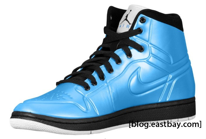Air Jordan 1 Anodized University Blue Black White 414823-401