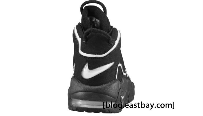 Nike Air More Uptempo Black White 414962-001