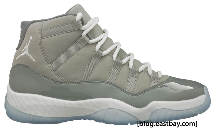 Jordan Retro 11 Cool Grey Release