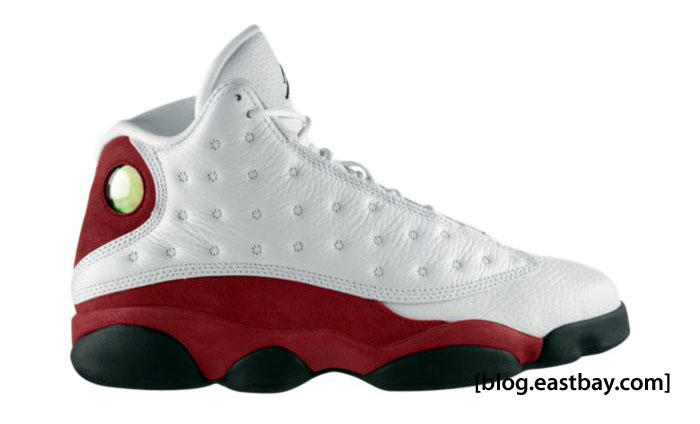 Jordan Retro 13 White/Black/Varsity Red