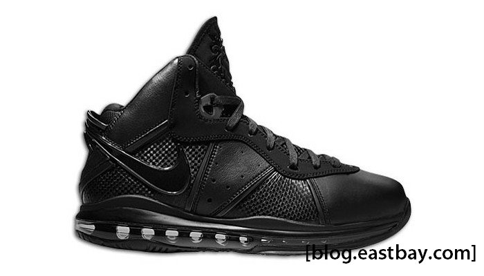 Nike Air Max LeBron 8 Black Black Metallic Gold 417098-001