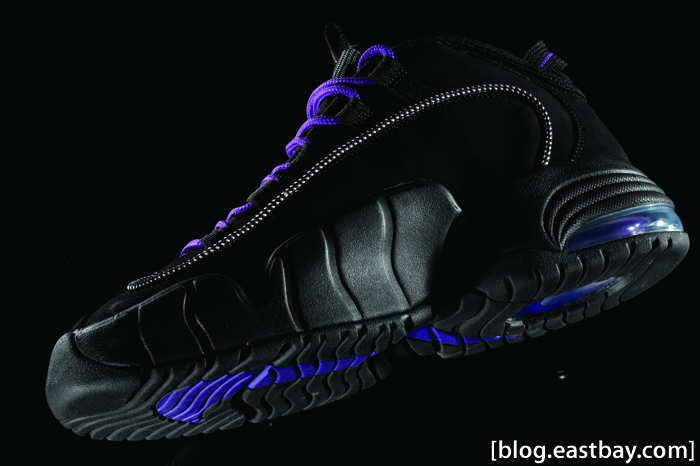 Nike Air Max Penny Black/Club Purple