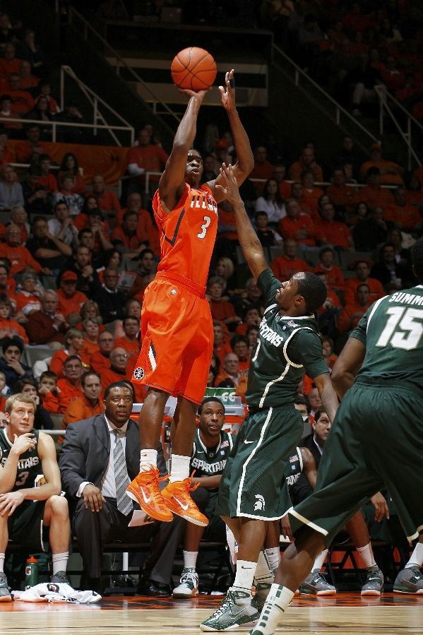 Brandon Paul wearing the Nike Zoom Hyperfuse