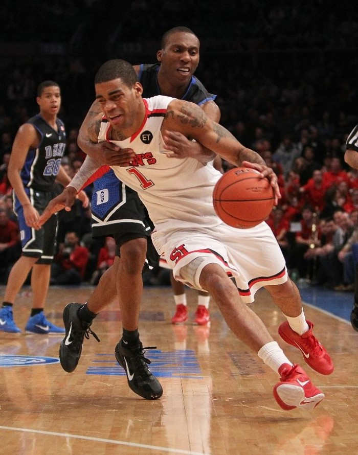 DJ Smith wearing the Nike Zoom Hyperfuse