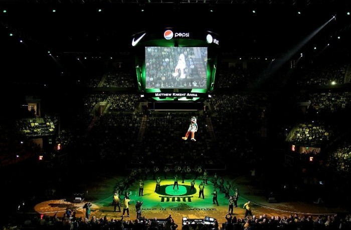 Oregon Opens Matthew Knight Arena In Style