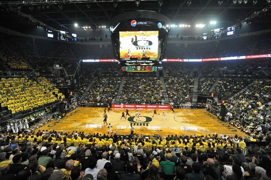 Oregon Opens Matthew Knight Arena In Style | Eastbay Blog