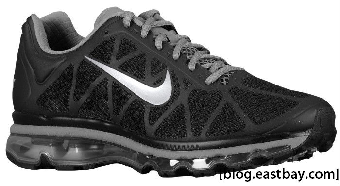 Nike Air Max+ Black Metallic Silver 429889-010