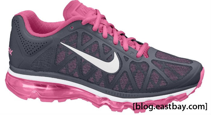 Nike WMNS Air Max+ 2011 Anthracite White Sport Pink 429890-006