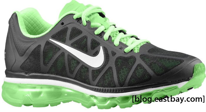 Nike WMNS Air Max+ 2011 Black Summit White Neo Lime 429890-013