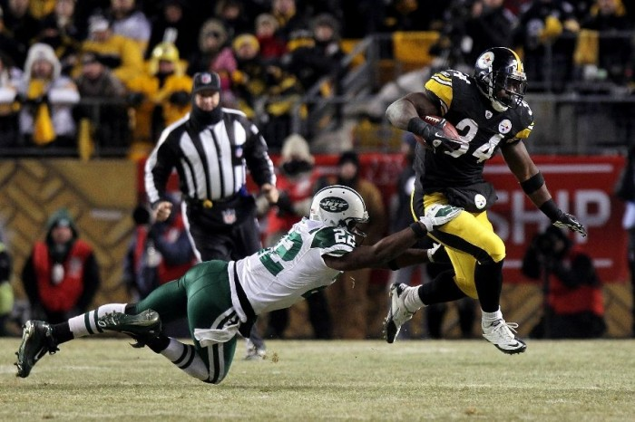 Rashard Mendenhall wearing the Nike Super Speed