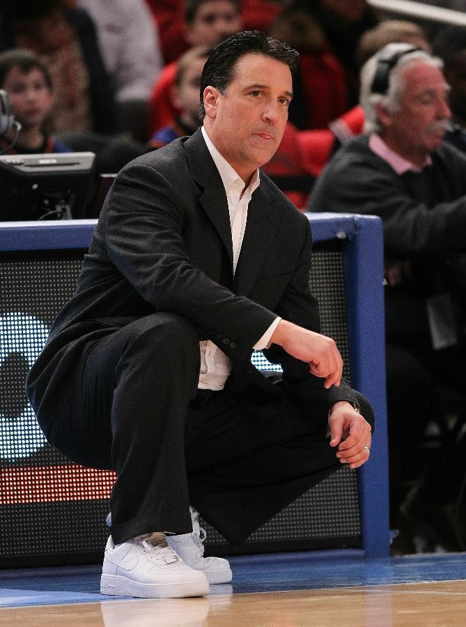 Steve Lavin wearing the Nike Air Force 1