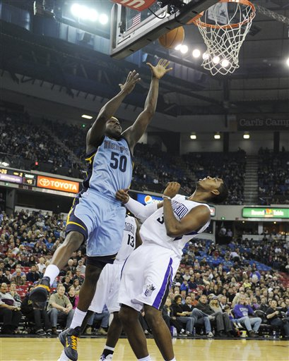 NBA: Eastbay Player of the Week - Zach Randolph - Photo courtesy of ESPN