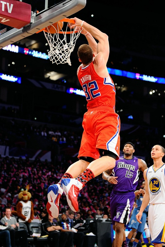 Blake Griffin wearing the Nike Air Max Fly By