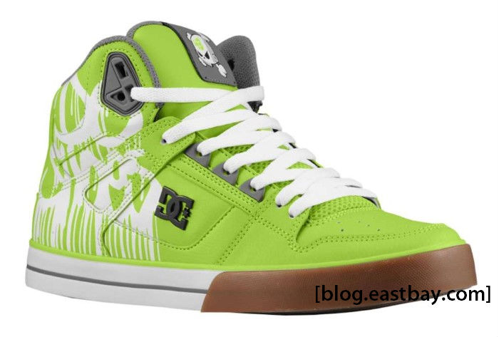 dc shoes ken block spartan hi wc soft lime eastbay blog. Black Bedroom Furniture Sets. Home Design Ideas