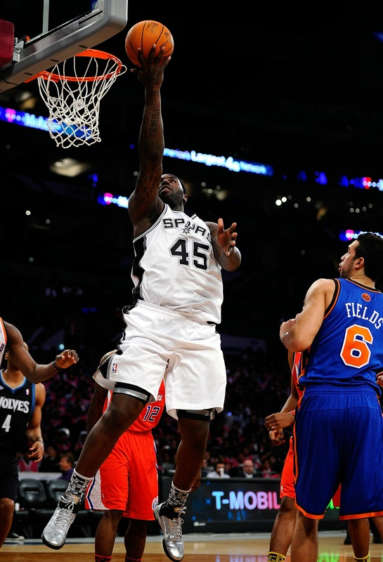 DeJuan Blair wearing the Nike Air Max Fly By