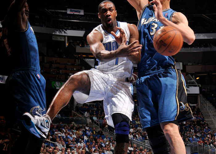 Gilbert Arenas in the Nike Air Flight Falcon.