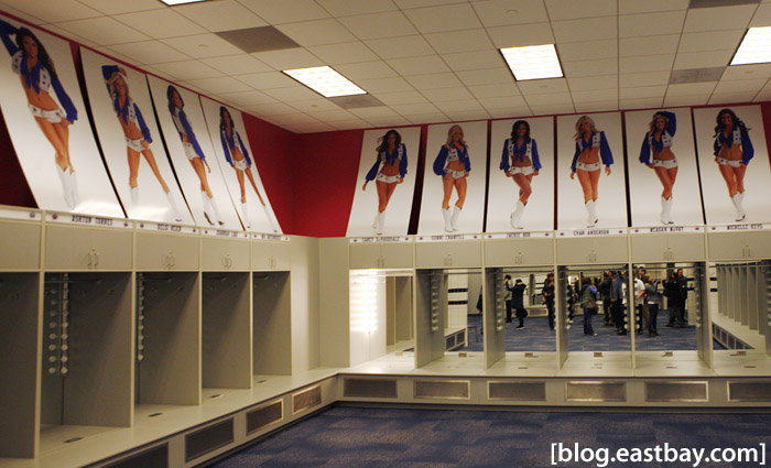 Dallas Cowboys Stadium - Cheerleaders Locker Room
