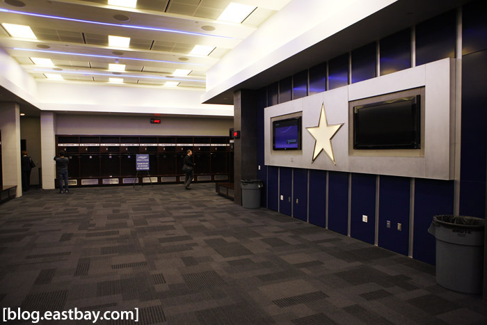 Dallas Cowboys Stadium - Locker Room