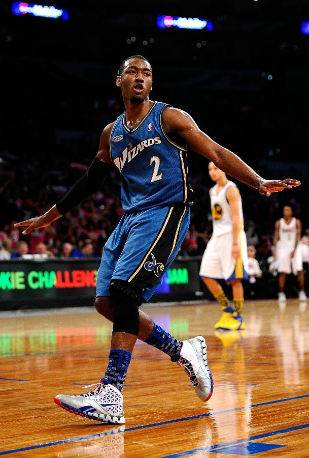 John Wall wearing the Reebok Zig Slash