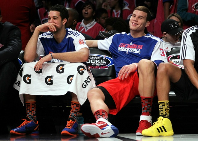 Landry Fields wearing the Nike Zoom Kobe VI iD