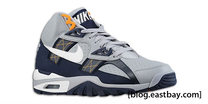 Nike Air Trainer SC High Grey White Obsidian Circuit Orange 302346-014