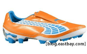 PUMA V1.10 II I FG Fluorescent Orange Blue Aster 10221703
